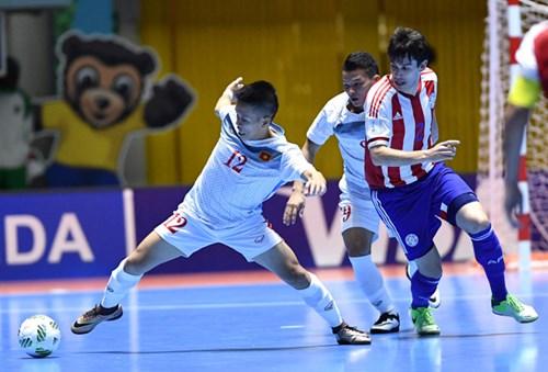 """Thua thảm Paraguay, Futsal Việt Nam """"hết đường"""" đi tiếp"""