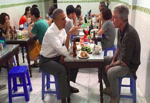 Video Tổng thống Obama ăn bún chả sắp chiếu trên CNN