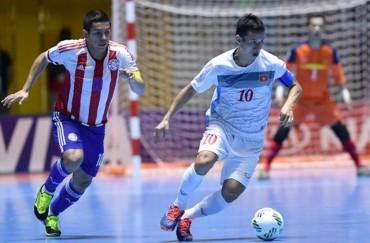Futsal Việt Nam đứng trước cơ hội lớn vào vòng 1/8 World Cup