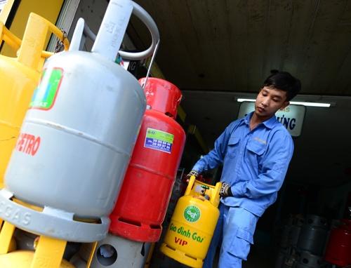 Hôm nay (1/9) giá gas tiếp tục tăng cao