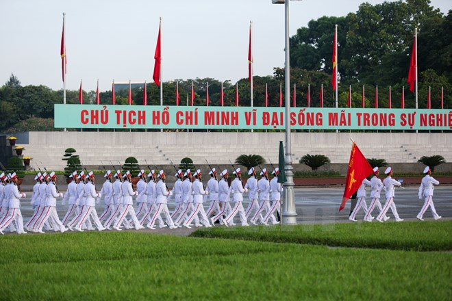 xuc dong le chao co tai quang truong ba dinh mung ngay quoc khanh 29