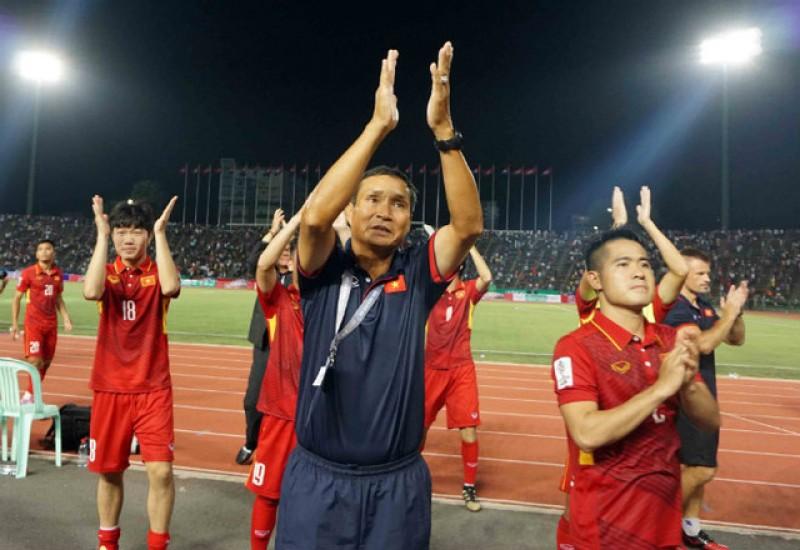 Dấu ấn của HLV Mai Đức Chung trong chiến thắng của đội tuyển Việt Nam