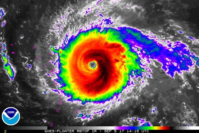 Siêu bão Irma phá hủy gần như hoàn toàn nhiều hòn đảo ở Caribe