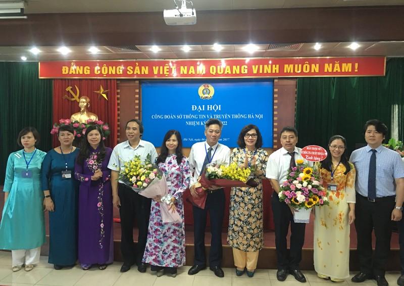 Đại hội Công đoàn  Sở Thông tin và Truyền thông Hà Nội: Đoàn kết, trách nhiệm, đổi mới