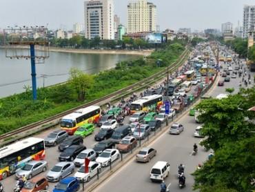 Đề nghị Hà Nội làm cầu vượt giảm ùn tắc đường Giải Phóng