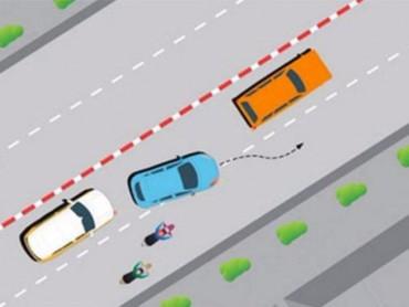 Xe ô tô vượt phải thế nào cho đúng?