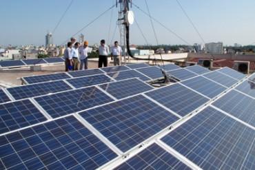 Điện mặt trời có giá bán 2.086 đồng/kWh
