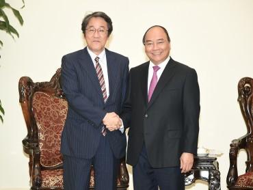 Thủ tướng tiếp Đại sứ Nhật Bản tại Việt Nam