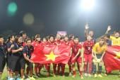 2017 là năm đại thắng của bóng đá Việt Nam cấp châu lục