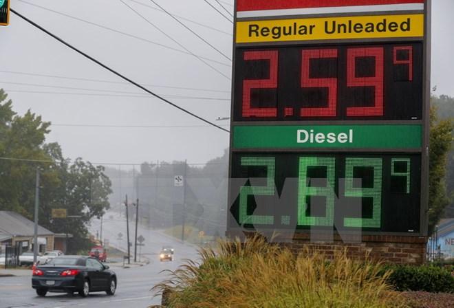 Giá dầu thế giới tăng liên tục trong những tuần gần đây