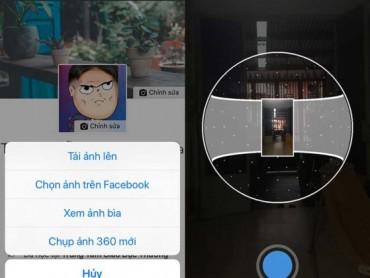 Cách tạo ảnh bìa Facebook 360 độ