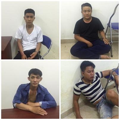 Nhóm cướp tốc độ thực hiện hàng chục vụ cướp giật ở Sài Gòn sa lưới