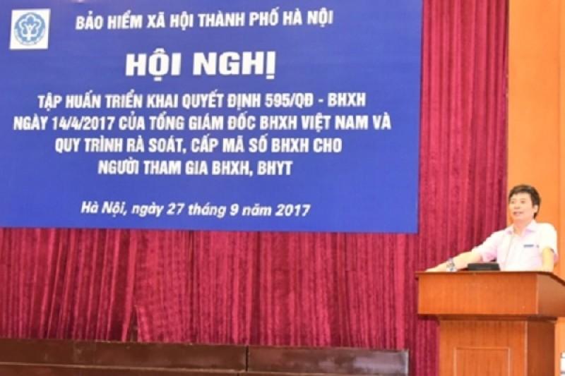 Bảo hiểm xã hội Hà Nội: Phổ biến quy trình cấp mã số BHXH tới đơn vị