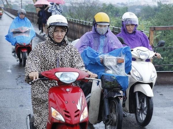Hầu hết các khu vực đều có mưa và dông trong ngày Quốc khánh 2/9