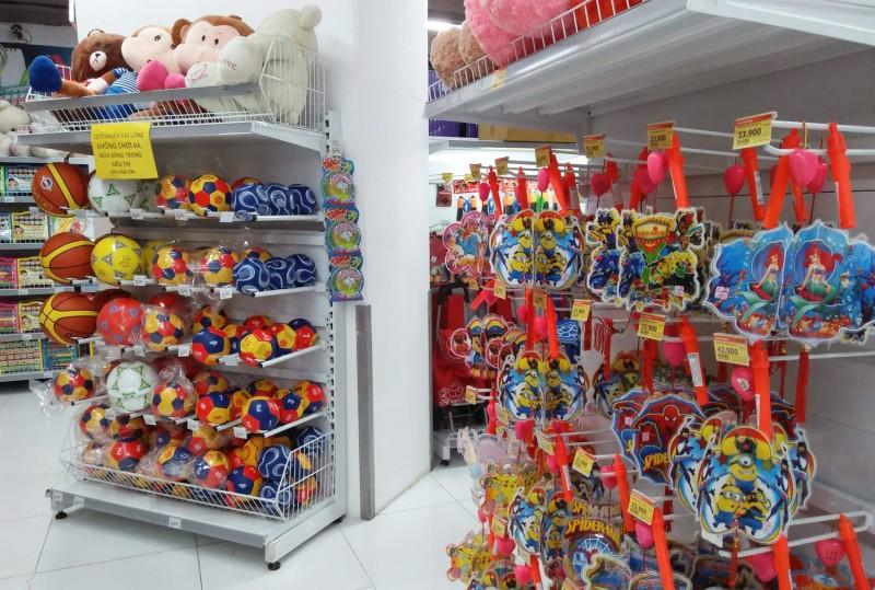 Thị trường đồ chơi trẻ em: Sản phẩm trong nước vẫn yếu thế