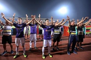 Hà Nội FC trở thành nhà vô địch V.League sớm nhất lịch sử