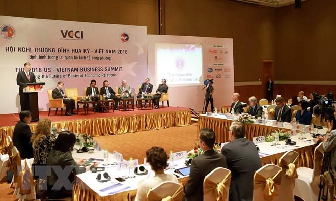 Hội nghị thượng đỉnh doanh nghiệp Hoa Kỳ-Việt Nam 2018