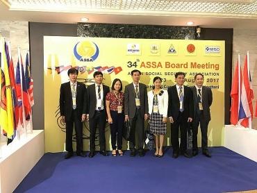 ASSA 35:  Sự kiện đối ngoại quan trọng của ngành BHXH