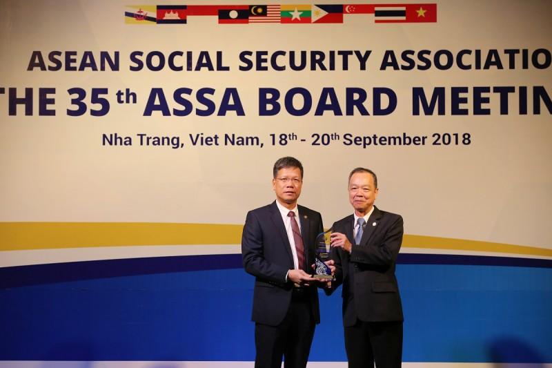 BHXH Việt Nam nhận giải thưởng của ASSA về công nghệ thông tin