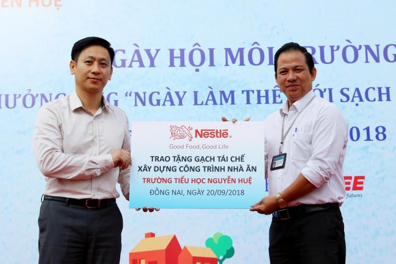 Nestlé Việt Nam xây công trình trường học cho hơn 1.000 học sinh bằng gạch từ sản xuất cà phê