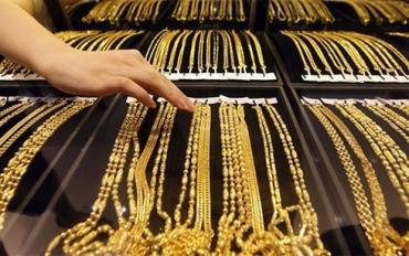 Giá vàng trong nước giảm xuống mức thấp