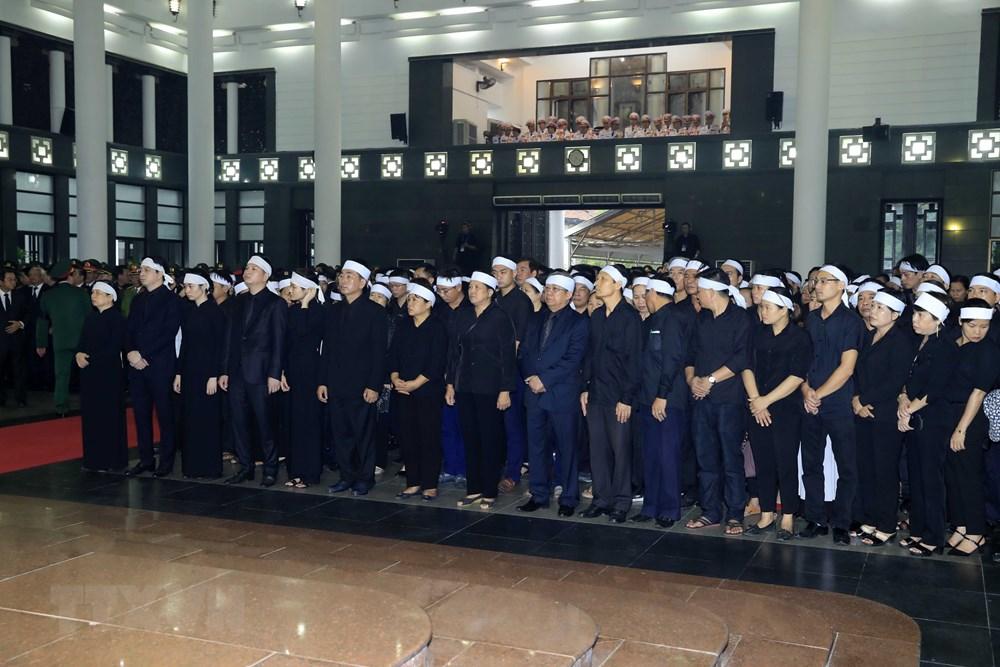 Những hình ảnh xúc động tại lễ truy điệu Chủ tịch nước Trần Đại Quang