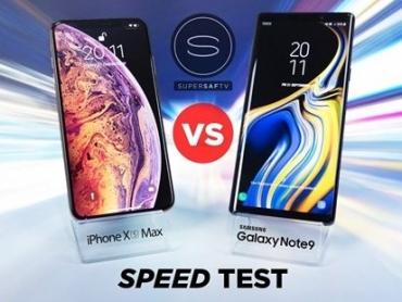iPhone XS Max đánh bại hoàn toàn Samsung Galaxy Note 9