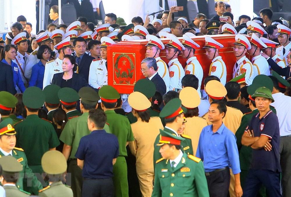 Hình ảnh lễ an táng Chủ tịch nước Trần Đại Quang tại Ninh Bình