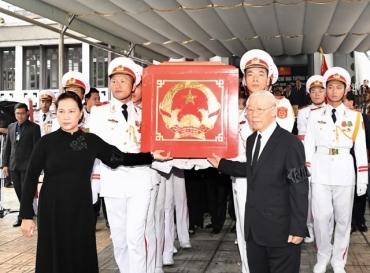 Lễ truy điệu, Lễ an táng Chủ tịch nước Trần Đại Quang