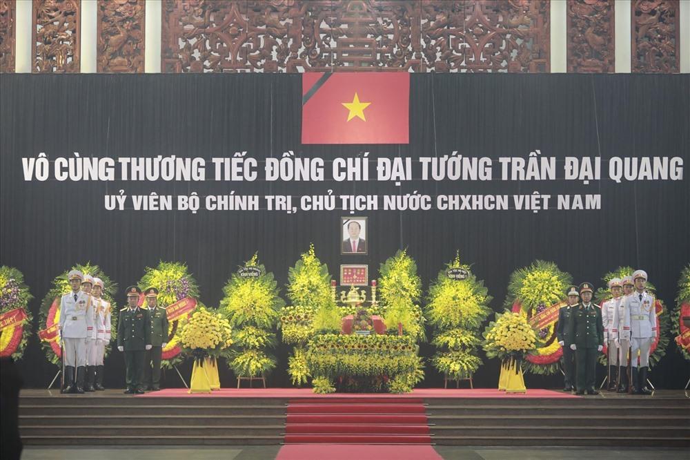 Lời cảm ơn của Ban Lễ tang Nhà nước và gia đình Chủ tịch Nước Trần Đại Quang
