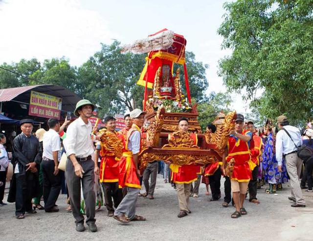 Thái Bình: Lễ khai hội truyền thống đền Đồng Bằng