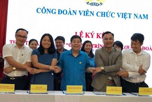Công đoàn Viên chức Việt Nam: Thêm nhiều phúc lợi cho đoàn viên