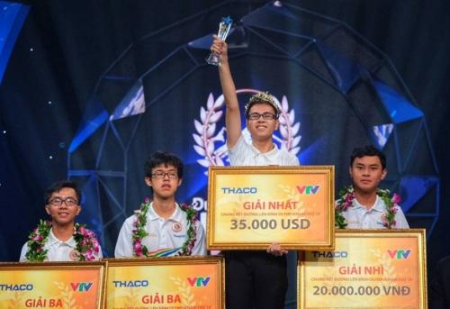 Cậu học trò Nghệ An xuất sắc giành vòng nguyệt quế Olympia 2019