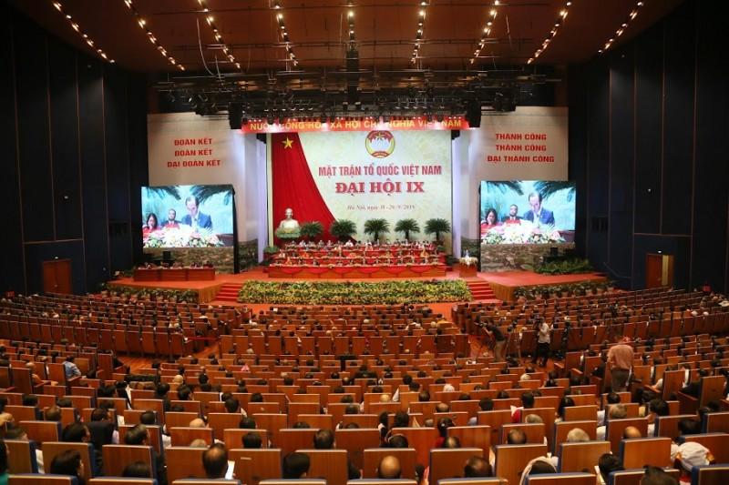 Khai mạc trọng thể Đại hội Mặt trận Tổ quốc Việt Nam lần thứ IX