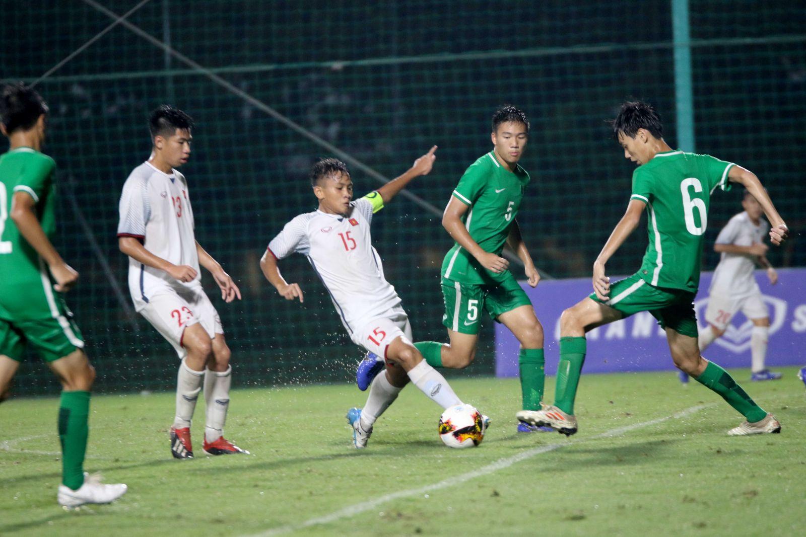U16 Việt Nam đang ở rất gần với tấm vé tham dự vòng chung kết