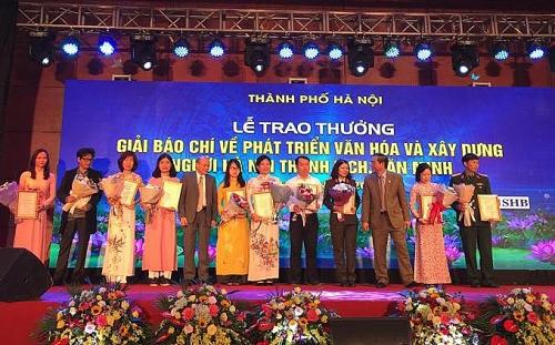 Ngày 4/10 sẽ tổ chức trao thưởng hai giải báo chí lớn của Thành ủy Hà Nội