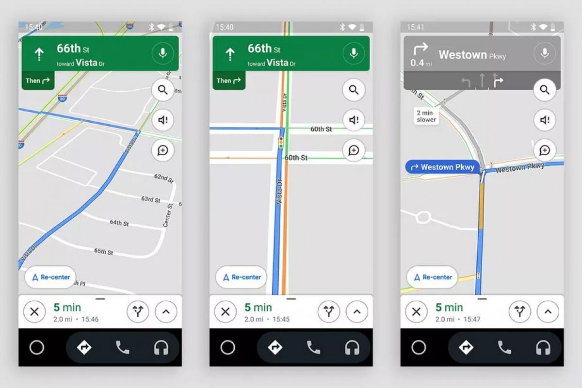Google Maps bổ sung thêm tính năng hiển thị đèn giao thông