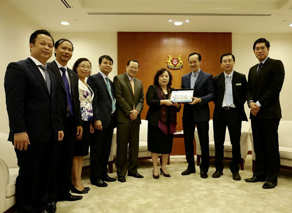 Chủ tịch HĐND TP Nguyễn Thị Bích Ngọc thăm, làm việc tại Nam Phi và Singapore
