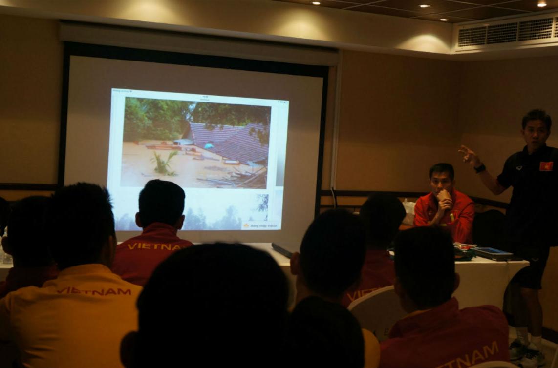 U19 Việt Nam quyết đấu UAE để xoa dịu nỗi đau miền Trung lũ lụt