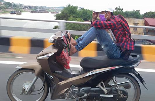 8 hành vi vi phạm bị tịch thu xe máy