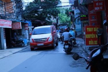 Cầu Giấy, Hà Nội: Bao giờ mới hết tắc đường, xuống cấp?