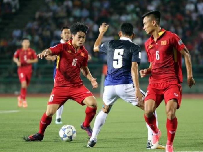Vé xem trận đấu giữa tuyển Việt Nam và Campuchia thấp nhất 100 ngàn đồng