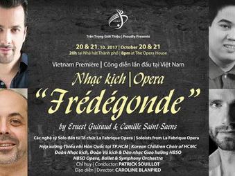 Công diễn vở nhạc kịch nổi tiếng được sáng tác tại Côn Đảo