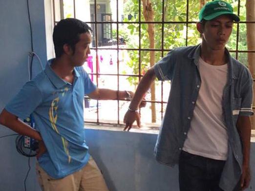 Huế: CSGT bắt gọn 2 thanh niên cướp tiền của người khuyết tật