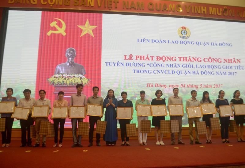 LĐLĐ quận Hà Đông: Hướng về cơ sở, chăm lo lợi ích đoàn viên