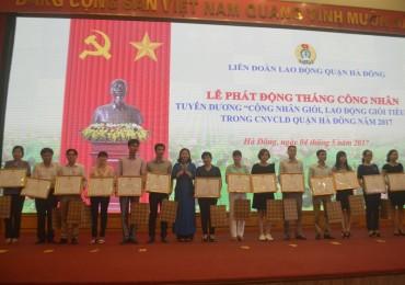 LĐLĐ quận Hà Đông: Đẩy mạnh phát triển đoàn viên, xây dựng công đoàn vững mạnh