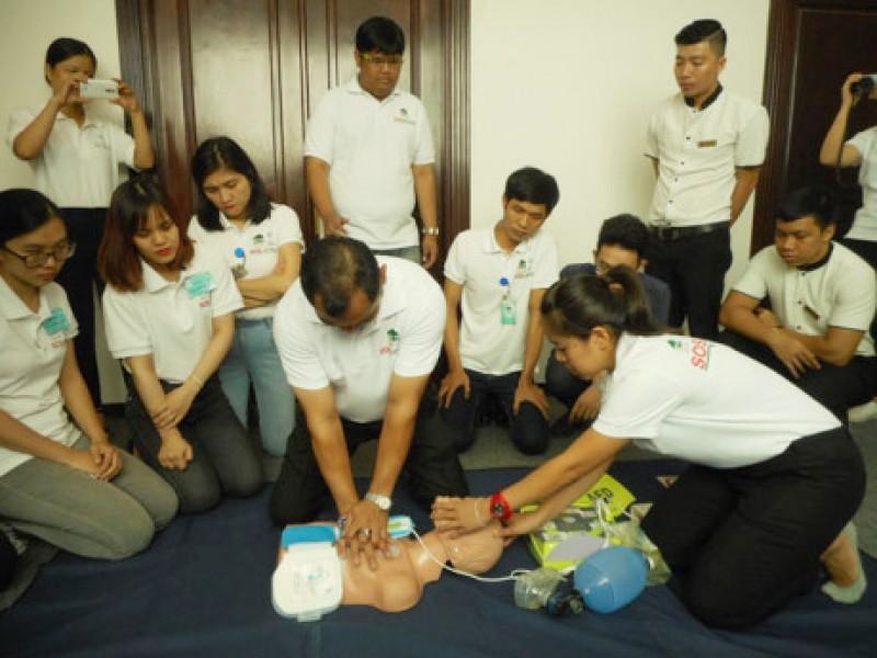 Khoảng 500 cán bộ y tế phục vụ 24/24h tuần lễ cấp cao APEC