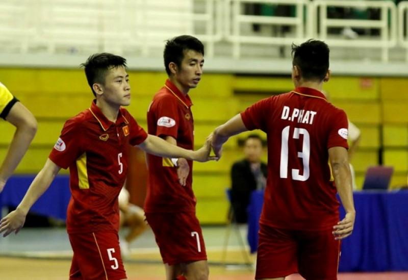 Đội tuyển futsal Việt Nam giành tấm vé tham dự VCK Futsal châu Á 2018