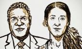 Chân dung hai chủ nhân của giải Nobel Hòa bình năm 2018