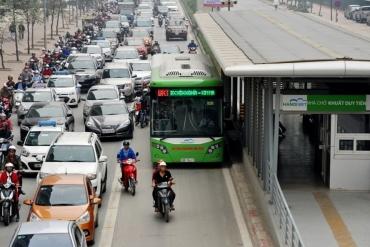 Thử nghiệm thẻ vé điện tử trên tuyến buýt BRT từ 10/10
